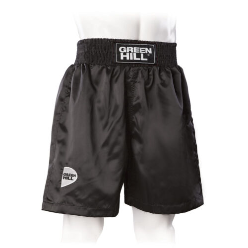 Greenhill Satin Boxing Short Training Sparring Fight Wear MMA UFC Muay Thai Fit