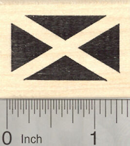 Flag-of-Scotland-Rubber-Stamp-Saint-Andrew-039-s-Cross-Saltire-D25002-WM