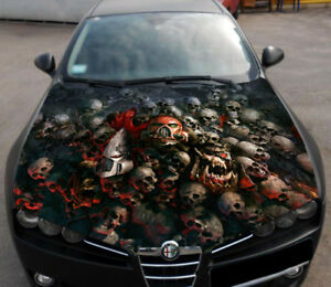 Vinyl Car Hood Wrap Full Color Top Graphics Decal Warhammer 40000 Custom Sticker