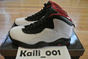 on sale 43bbd 02f6d Image is loading Nike-Air-Jordan-10-X-Retro-Chicago-310805-