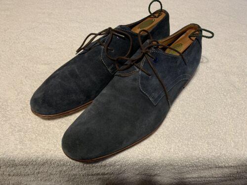 Aldo Blue Suede Loafer Oxford Dress