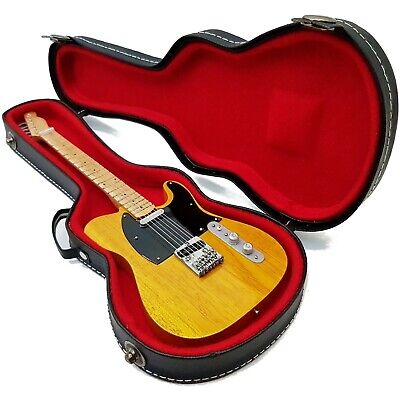 Mini Guitar Bruce Springsteen + hard case shaped box 1:4 ...