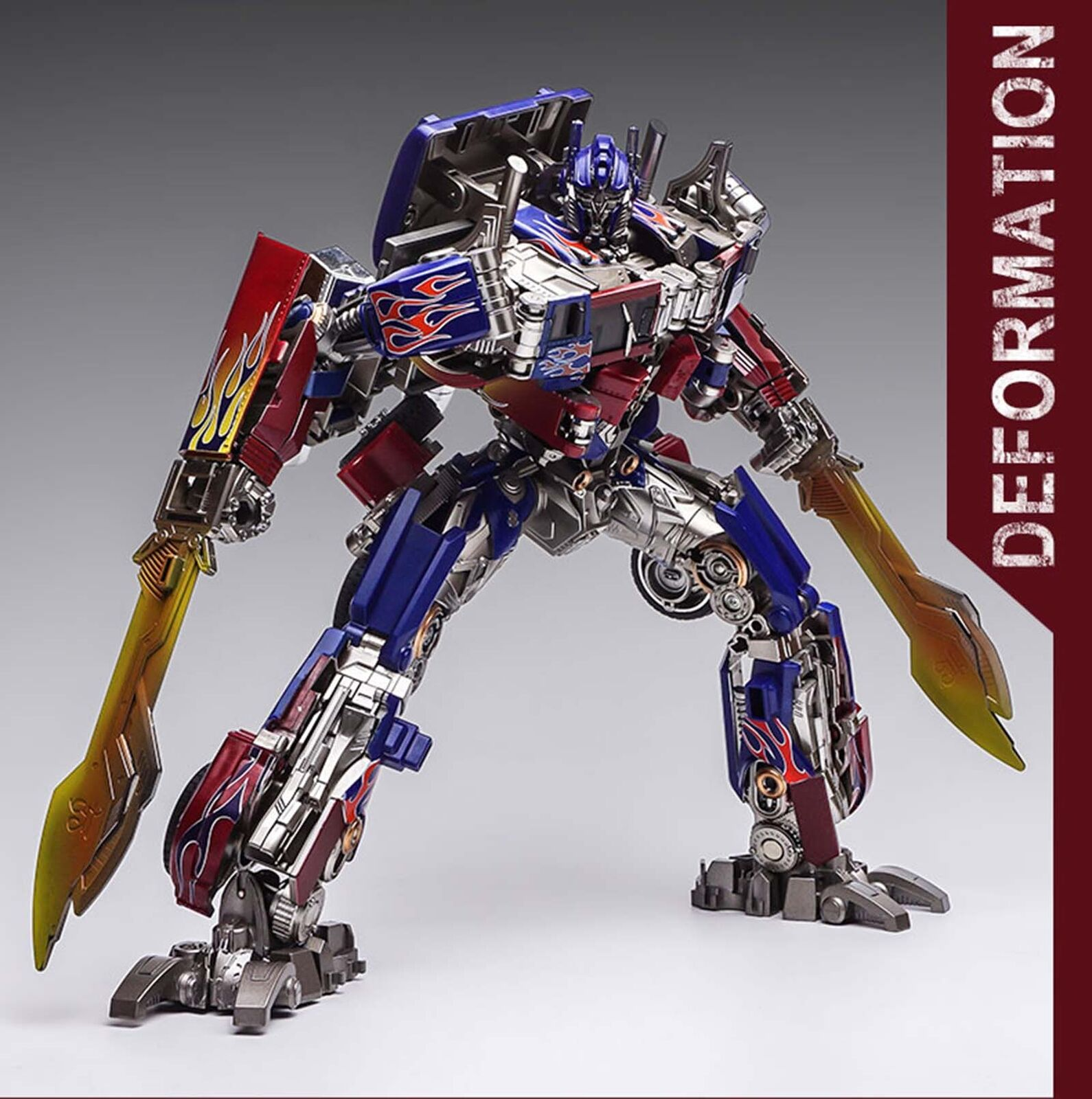 WJ SS05 Commander Oversized Optimus Prime Transformers Action Figure Kids New