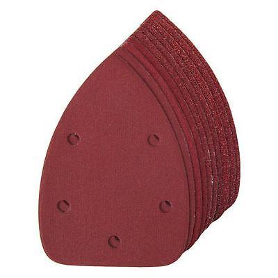 10 X Mouse Sanding Sheets  Black and Decker Detail Mouse Palm Sander Sandpaper