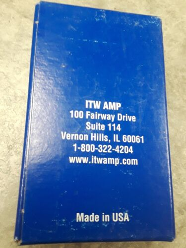ITW Amp 7mm Soft Wood 1007SPT Genuine Mitre-Mite V-Nails Pulling Power 4,000 New