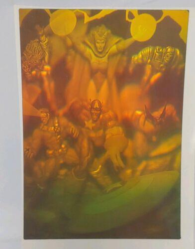"Ironman Vintage Polaroid 90/'s 3D Hologram Sticker Marvel Wolverine More 7x5/"""