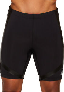 Black Asics Base Sprinter Mens Short Running Tights