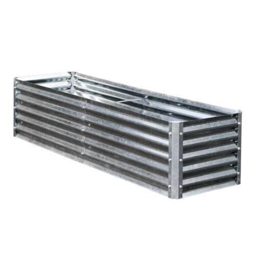x 76 in Row Bed Bundle 22 in x 17 in Rectangle Lightweight Galvanized Steel