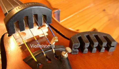 VIOLIN Viola String Heavy Practice MUTE rubber//plastic UK SELLER