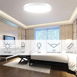 20W-28W-36W-48W-Round-LED-Ceiling-Down-Light-Flush-Mount-Kitchen-Bedroom-Fixture