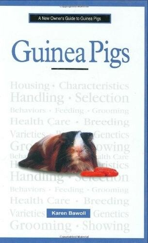 1 of 1 - A New Owner's Guide to Guinea Pigs, Bawoll, Karen, 0793828309, Very Good Book