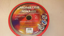 Monster MPC P300 8bl-250 8 Gauge Power and Ground Cables Blue- 250 Feet