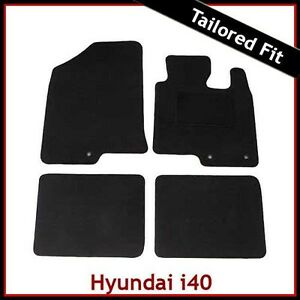 Hyundai-i40-2011-onwards-Tailored-Fitted-Carpet-Car-Floor-Mats-BLACK