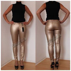 Skinny-Jeans-goldfarben-metalliclook-Roehre-Leggings-Roehrenjeans-1995