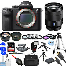 Sony Alpha a7R II Digital Camera W/ Vario-Tessar T* FE 24-70mm! MEGA BUNDLE NEW!