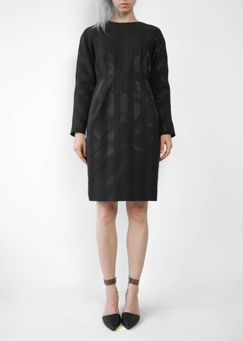 Hof115  cos Vestito aderente Strisce Nero High-Waist High-Waist High-Waist Dress nero 38 6fe1e1