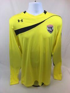 e5fd84064 Under Armour Men s Yellow Long Sleeve HeatGear Soccer Goalkeeper ...