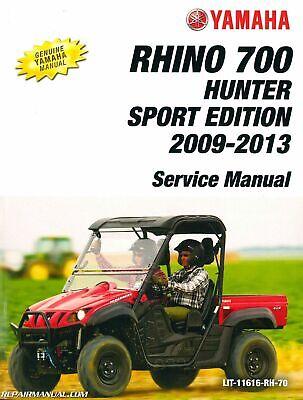 CLYMER SERVICE REPAIR MANUAL YAMAHA RHINO 700 YXR700 2008 2009 2011 2012