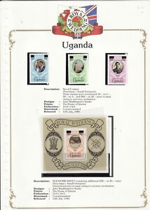 1981-ROYAL-WEDDING-UGANDA-SET-3-SOUVENIR-SHEET