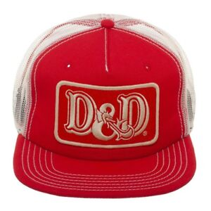 e79540a670f Bioworld Dungeons   Dragons D D Patch Red Trucker Snapback Cap Hat ...