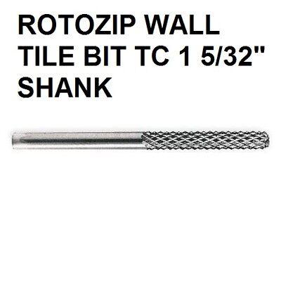 "ROTOZIP XBIT  XB TC1 5//32/"" SHANK WALL TILE CUTTING BIT NEW STOCK"