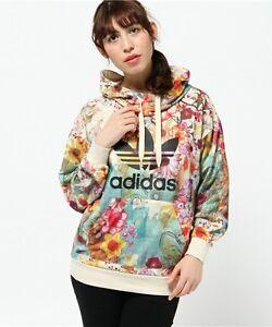 DétailsAdidas Confete Aj8148 X Womens Originals Floral Trefoil Hoodie Sweatshirt Farm tCshrxBQd