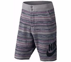 322bac23 NIKE Knit FC Squad Shorts $70 744421 003 Mens SIZE XL DK GRY/GRY/RED ...
