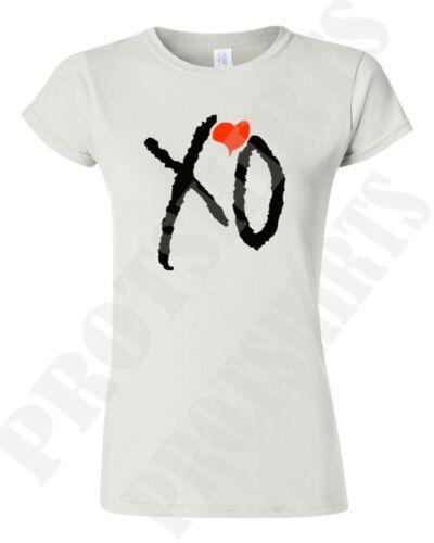 XO THE WEEKND LADIES T-SHIRTS XO TILL OVERDOSE  OVOXO XO THE WEEKND