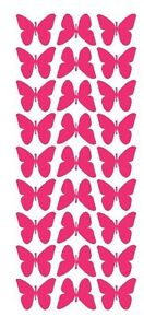image is loading hot pink 1 034 butterfly stickers bridal shower