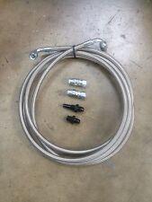 GM 4L80E / 4L85E transmission cooler Stainless Steel Hose Kit. -6AN 1997 - 2010