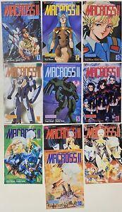 Macross-II-1-2-3-4-5-6-7-8-9-10-Superdimensional-Fortress-1992-Viz-Select-Comics