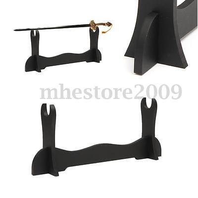 New One Tier Desk Table Samurai Sword Katana Holder Stand Hanger Bracket Display