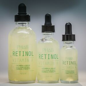 PURE RETINOL SERUM VITAMIN A 2.5% + HYALURONIC ACID
