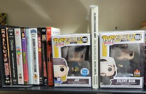 Funko Pop, Jay and Silent Bob, Funko Exclusive, Free dvds, signed script by Jay