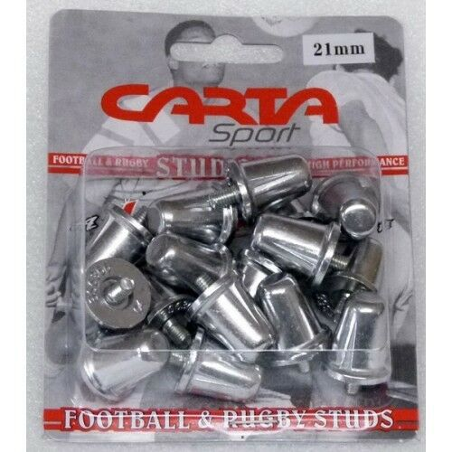 16 Replacement Aluminium Rugby Union Studs Standard Thread