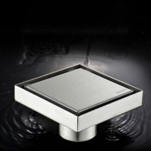 10-10-Square-Bathroom-Shower-Floor-Drain-Insert-Anti-odor-Invisible-Floor-Drain