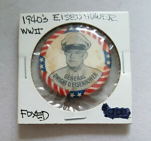 1940s-General-Dwight-D-Eisenhower-US-Army-button-pin-pinback-1-25-034