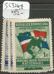Dominican Republic SC 326-8 MOG (2cgn)