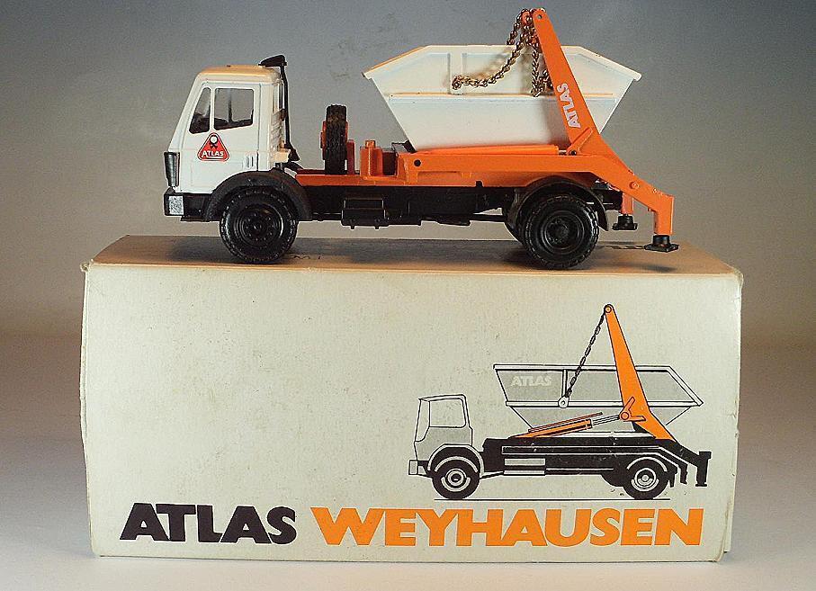 CONRAD 1 50 MERCEDES BENZ Atlas weyhausen ABSETZKIPPER publicitaires modèle neuf dans sa boîte  1279
