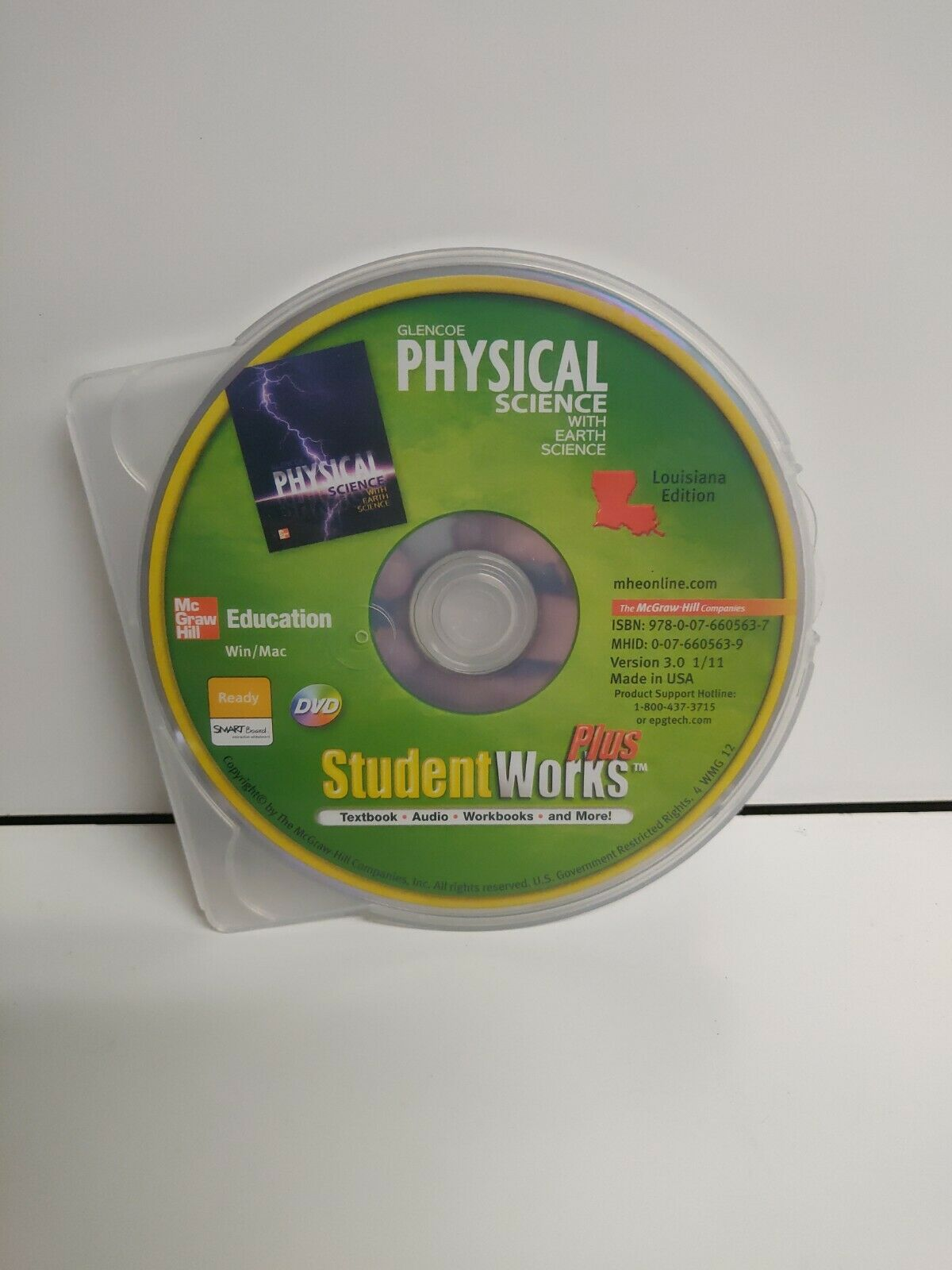 Glencoe Physical Science With Earth Science Student Works Plus 3