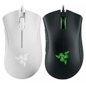 Details about Razer DeathAdder Essential USB Wired 6400 DPI Optical  Ergonomic Game Mouse #B