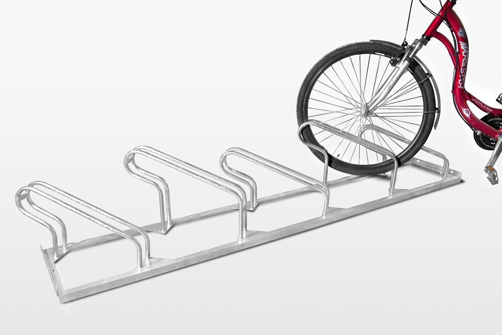 Fahrradständer TOP 6-fach, 45° Schrägeinstellung  Reihenparker Fahrradparker Bik