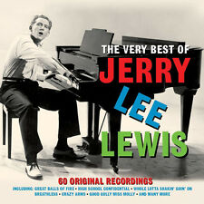 Jerry Lee Lewis VERY BEST 60 Original Recordings ESSENTIAL COLLECTION New 3 CD