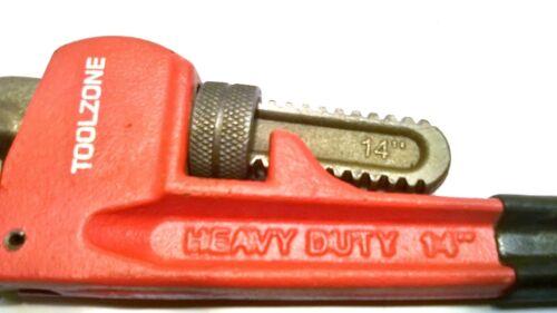 """TUBO Spanner TZ sp067 MONKEY WRENCH 14 /""""heavy duty regolabile stilsons"""