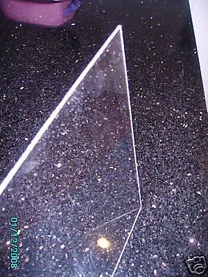 TRASPARENTI Acrilico Perspex Foglio Cast di alta qualità 8mm A4 pannello di plastica di dimensioni