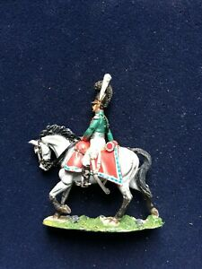 SOLDAT-DE-PLOMB-CAVALIER-EMPIRE-OFFICIER-CHEVAUX-LEGERS-BAVARIAN-1812