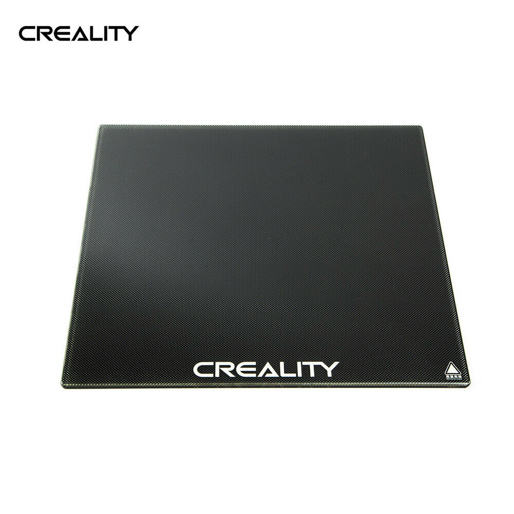 Creality Carbon Silicon Crystal Glass Print Bed 4mm Ultrabase Self-Adhesive CR-X