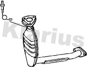 NEW KLARIUS CATALYTIC CONVERTER FORD FOCUS 2.0 380080