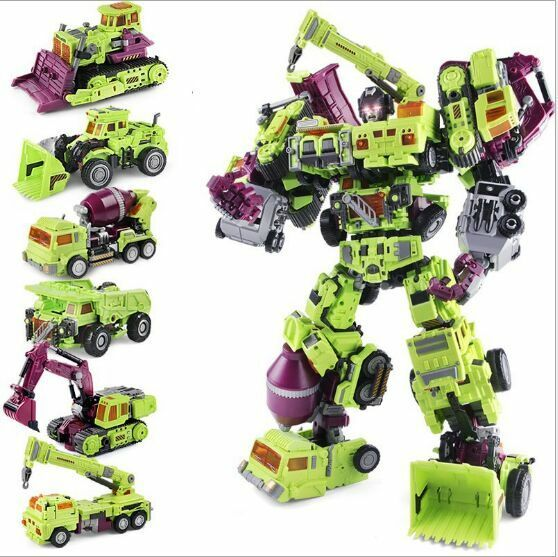 WJ Oversized  Devastator Robots Action Figure 15  Toy New