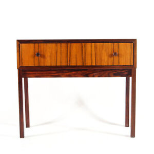 Retro Vintage Danish Rosewood Chest of Drawers TV Stand 60s Mid Century Modern